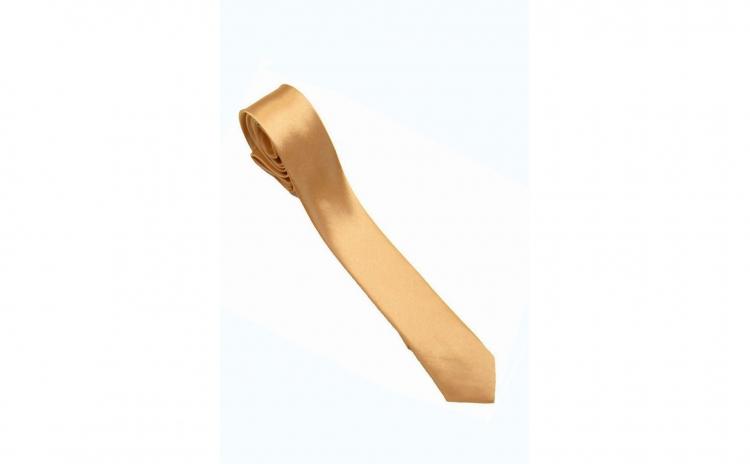 Cravata cu aspect matasos, gold