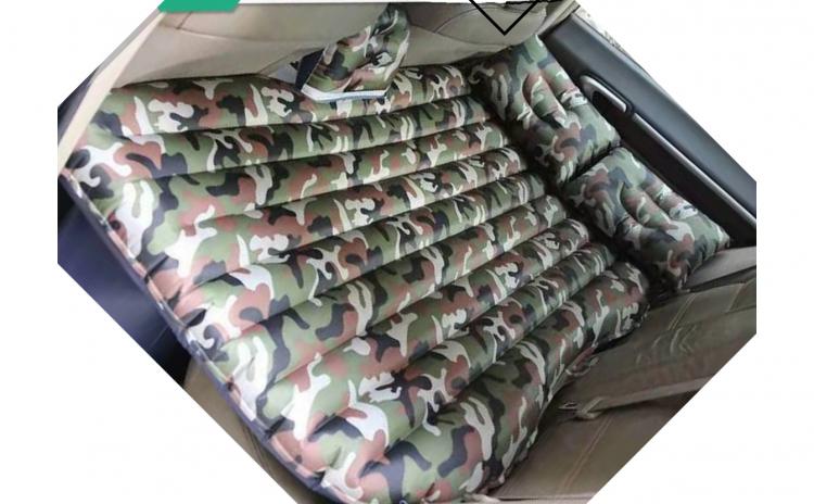 Saltea auto camuflaj+POMPA