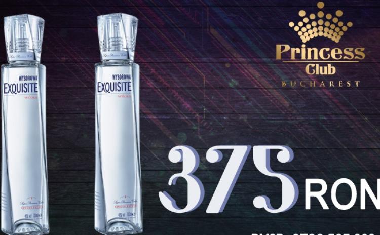 2 Sticle 0.7L WYBOROWA EXQUISITE in Club Princess din Regie la doar 375 RON in loc de 600 RON