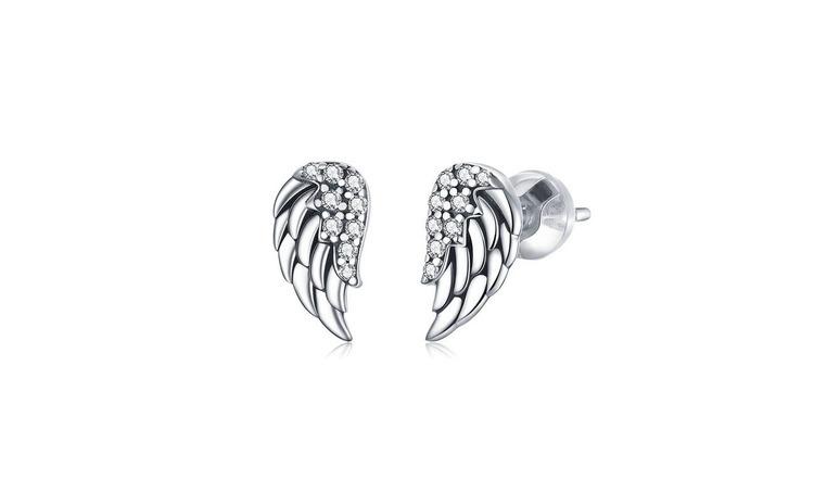 Cercei din argint 925 Vintage Wings