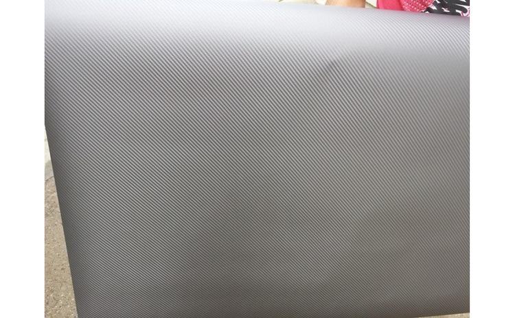 Rola folie carbon 3D gri antracit latime