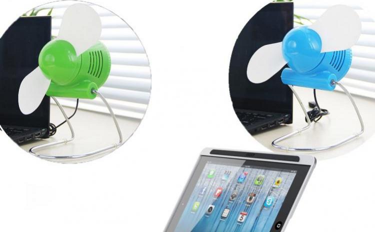 Reduceri Ventilatoare – 51 % Reducere – Pret Mini ventilatorul de birou cu USB, la 39