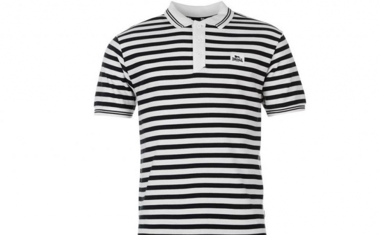 Tricou barbati Lonsdale Polo Stripe la doar 75 RON de la 179 RON