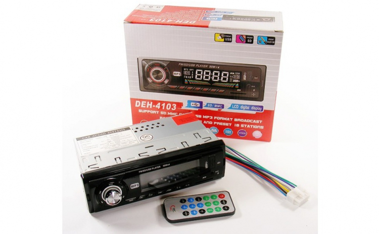 Radio MP3 Player auto cu telecomanda