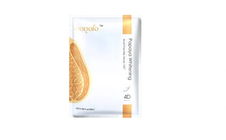 Masca servetel, 4D cu extract de papaya