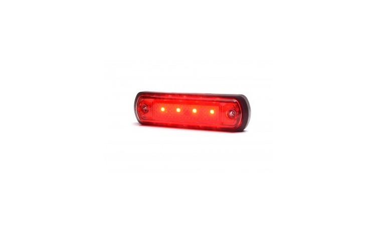 Lampa gabarit 4 LED rosie W189-1339 WAS
