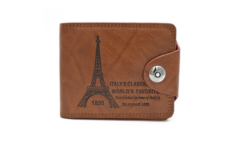 Imagine indisponibila pentru Portofel pentru barbati, model Turn Eiffel, calitate Premium