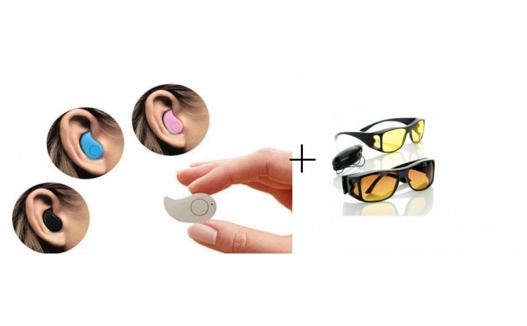 Set 2 perechi ochelari + Mini Casca