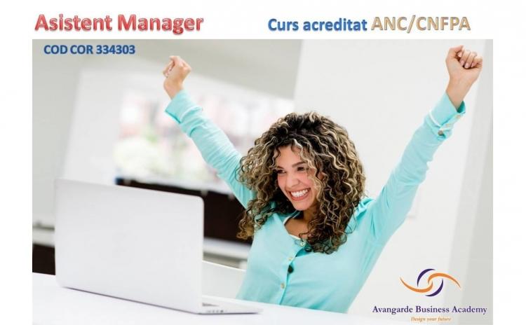 Curs Asistent Manager - Acreditat ANC