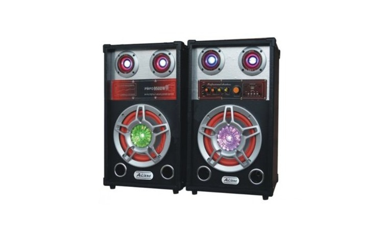 Boxe audio profesionale Ailiang, 300 W