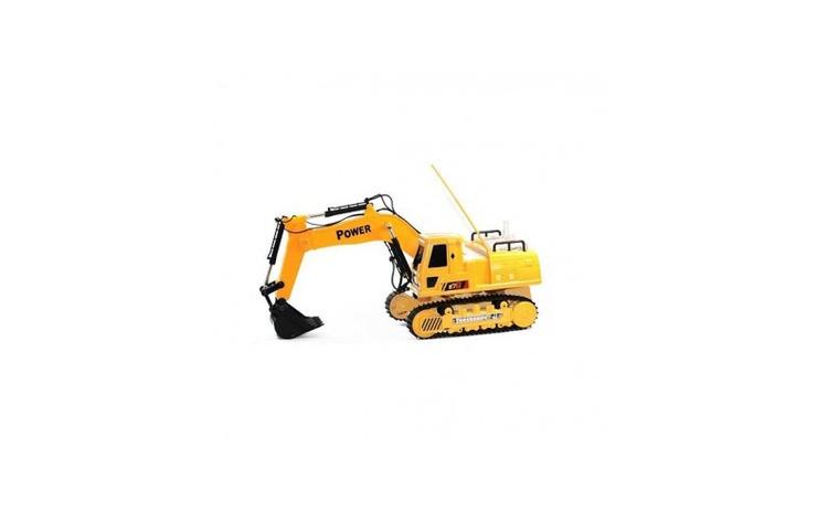 Excavator de jucarie RC 12 8060E, galben