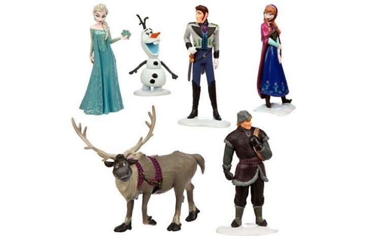 Set 5 figurine jucarie - Frozen