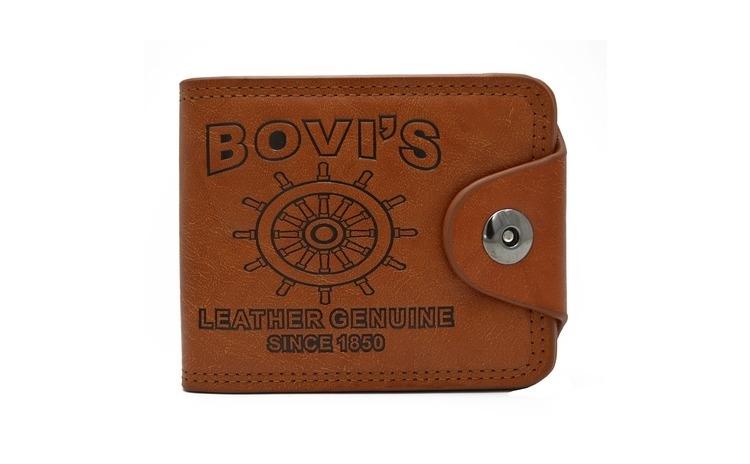 Imagine indisponibila pentru Portofel Bovis maro, pentru barbati, calitate Premium