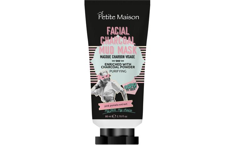 Mască de față Petite Maison Charcoal