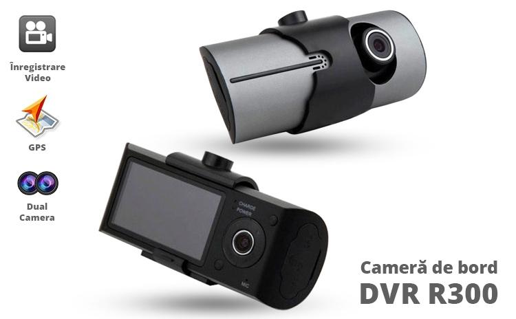 Camera auto cu dubla lentila si GPS