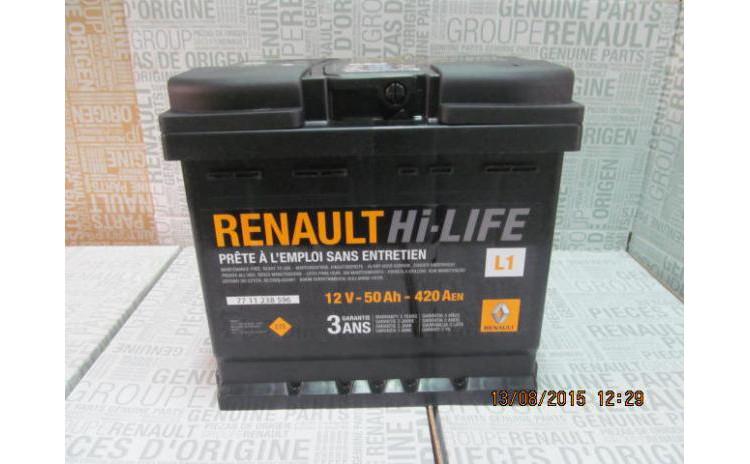 Baterie auto 50 Ah 420 A(EN) 12V