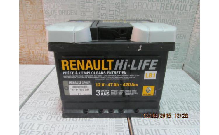 Baterie auto 47 Ah 420 A(EN) 12V
