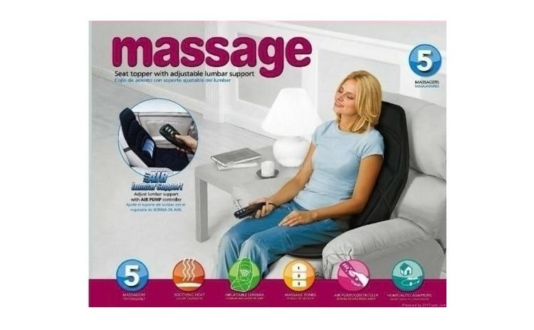 Husa pentru masaj, cu perna si incalzire