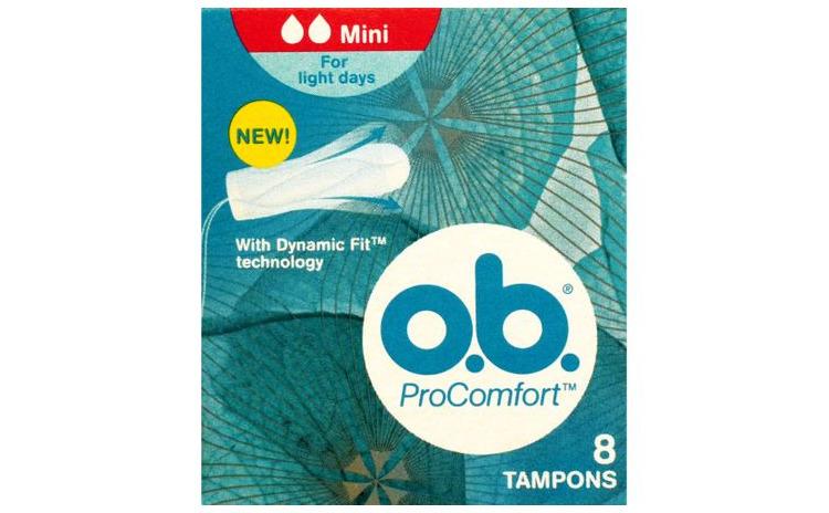 Tampoane OB ProComfort mini, 8 buc.