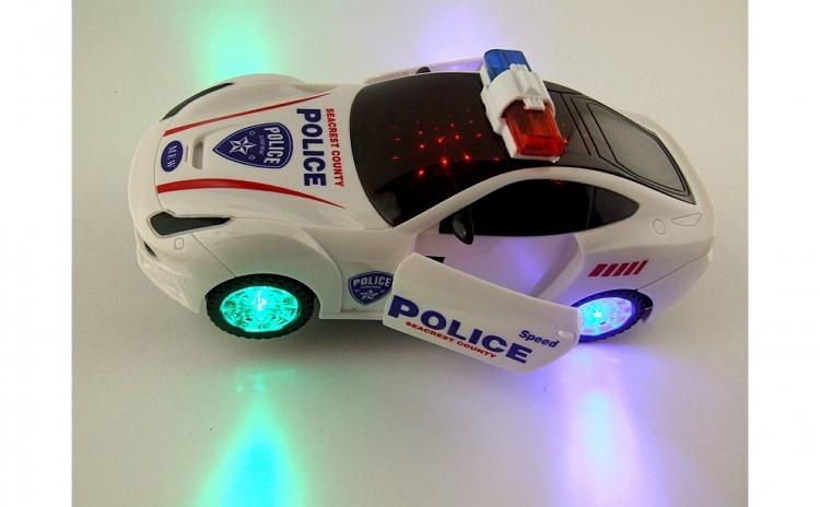 Masinuta de politie cu sunete