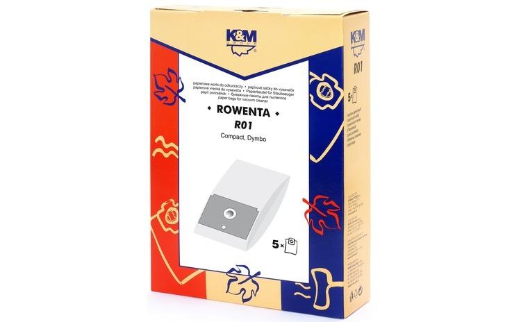 Sac aspirator Rowenta ZR745, hartie, 5X