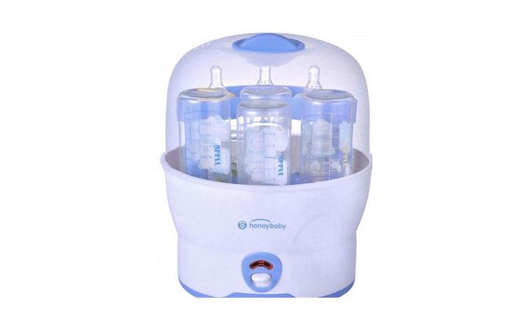 Sterilizator cu aburi pentru biberoane