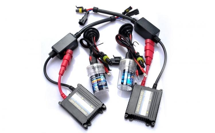 Kit xenon slim H8/H9/H11, 8000K, 35W