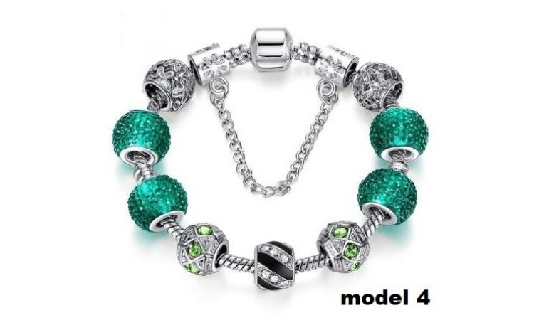 Bratara Charm Luxury & Crystal Cu Insertii Zirconi