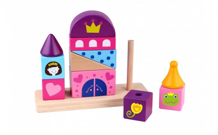 Jucarie de stivuit Castel, Tooky Toy