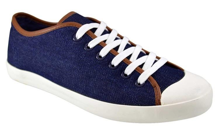 Pantofi Casual Barbati Bleumarin Jeans