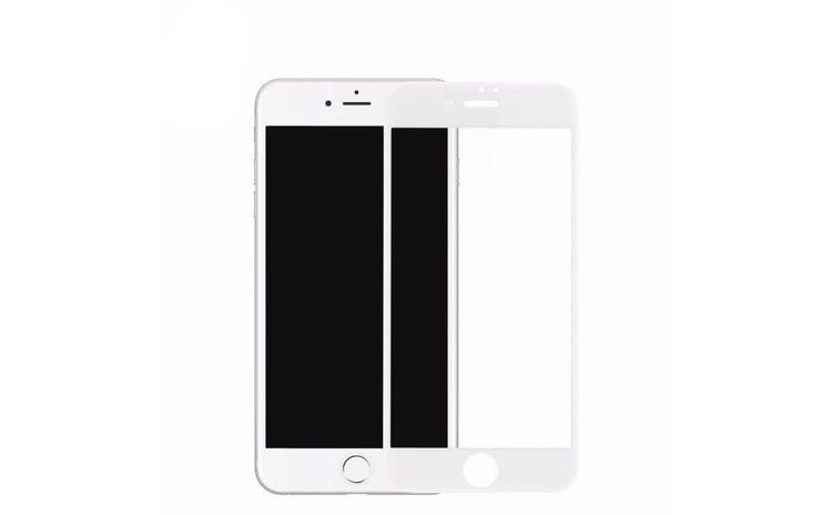 Folie Sticla Apple iPhone 6 Plus Flippy 4D/5D Alb