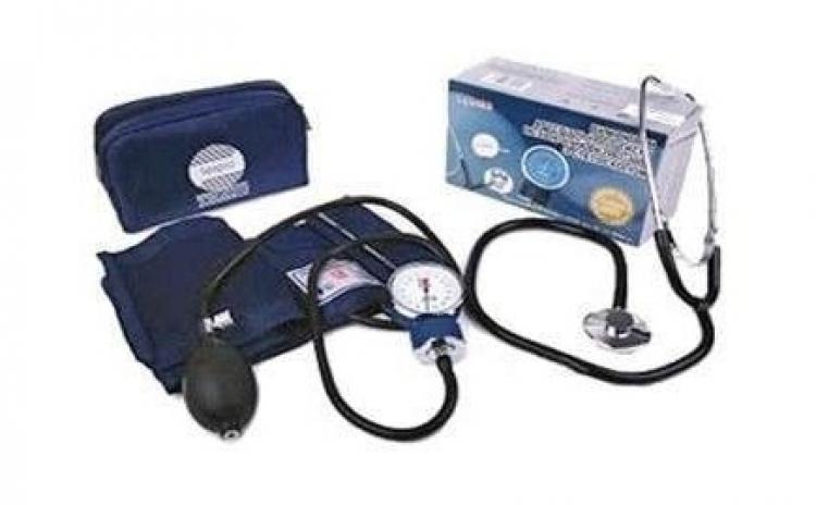 Imagine indisponibila pentru Tensiometru de brat si Stetoscop CADOU, la doar 56 RON in loc de 120 RON - cel mai simplu de utilizat tensiometru iti poti verifica tensiunea oriunde, oricand