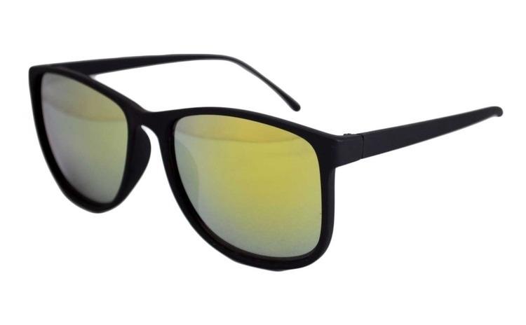 Ochelari de soare Justin verde reflexii
