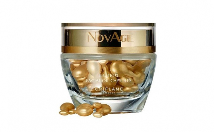 Capsule cu ulei facial NovAge Nutri6