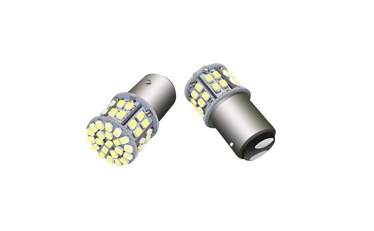 Bec LED cu doua faze 50SMD lumina rosie