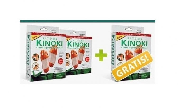 Set 10 plasturi de detoxifiere Kinoki
