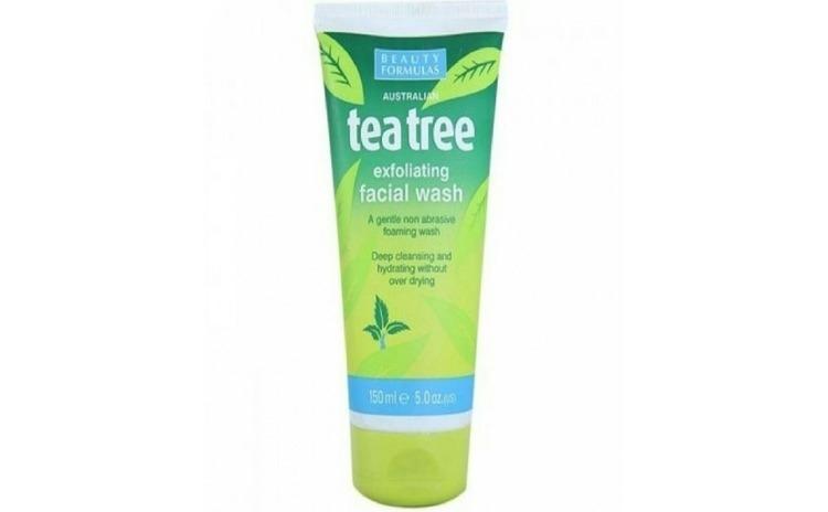 Beauty Formulas Tea Tree Gel De Fata Exfoliant