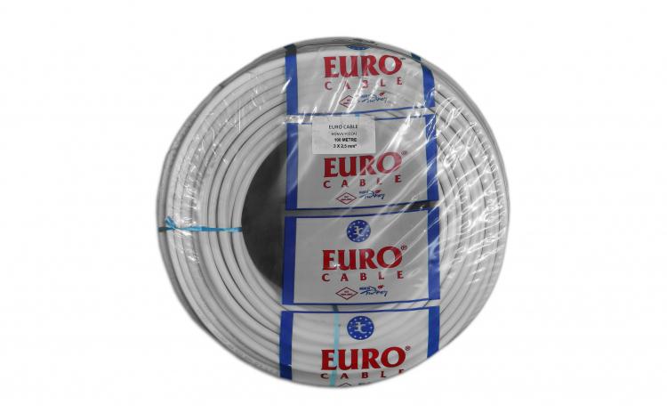 Cablu Electric 3x2,5mm x 100 metri