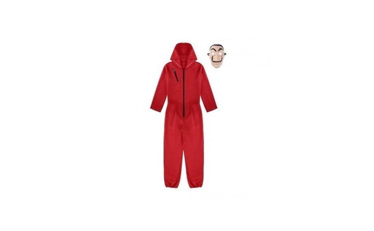 Costum si masca pentru adulti La Casa de
