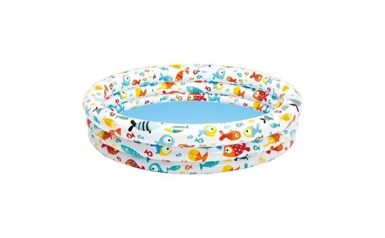 Set piscina copii, minge plaja si colac