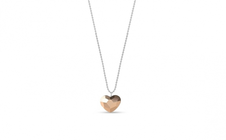 Colier Heart Rose Gold