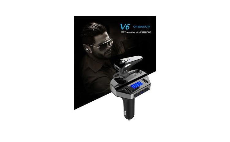 Kit modulator MP3 + Casca bluetooth