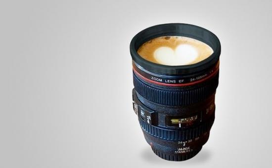 Cana- Termos In Forma De Obiectiv Foto - Un Produs Multifunctional  La Doar 35 Lei In Loc De 99 Lei
