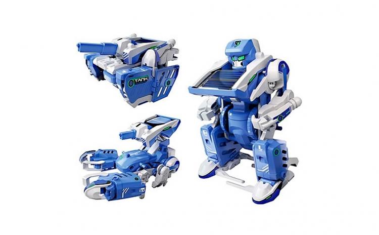 Kit robotic solar 3in1