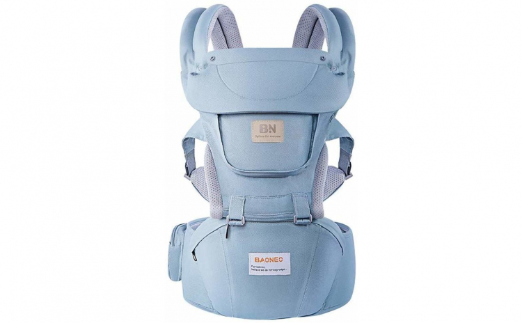 Marsupiu bebe ergonomic cu scaunel