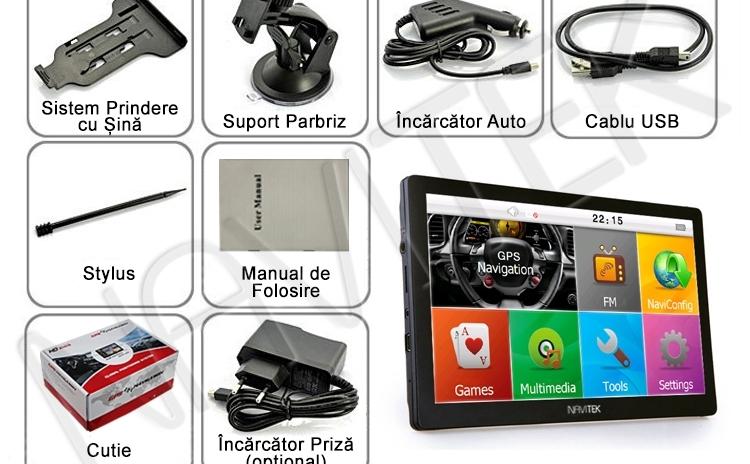 "GPS Auto/Tir NAVITEK 7"" HD Full Europa"