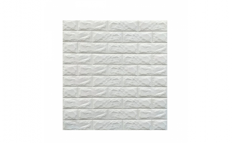 5 x Tapet autoadeziv caramizi albe, 77 x