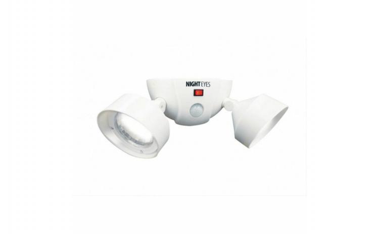 Lampa dubla fara fir, cu LED si senzor