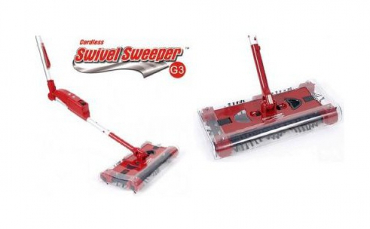 Matura electrica rotativa Swivel Sweeper