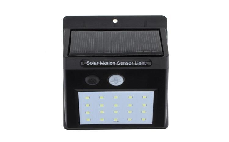 Lampa 20 led, senzor lumina si miscare